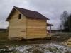 Компанией «Северный рубленый дом» осуществлено строительство дома из профилированного бруса 150х200мм.