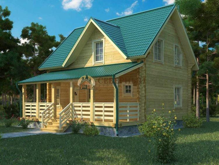 Проект дома с 3 комнатами