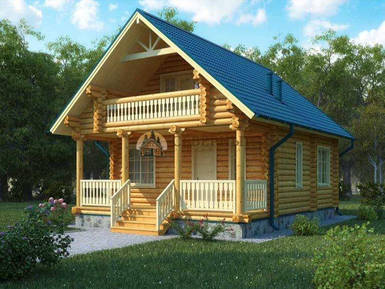 Дом из бревна цена