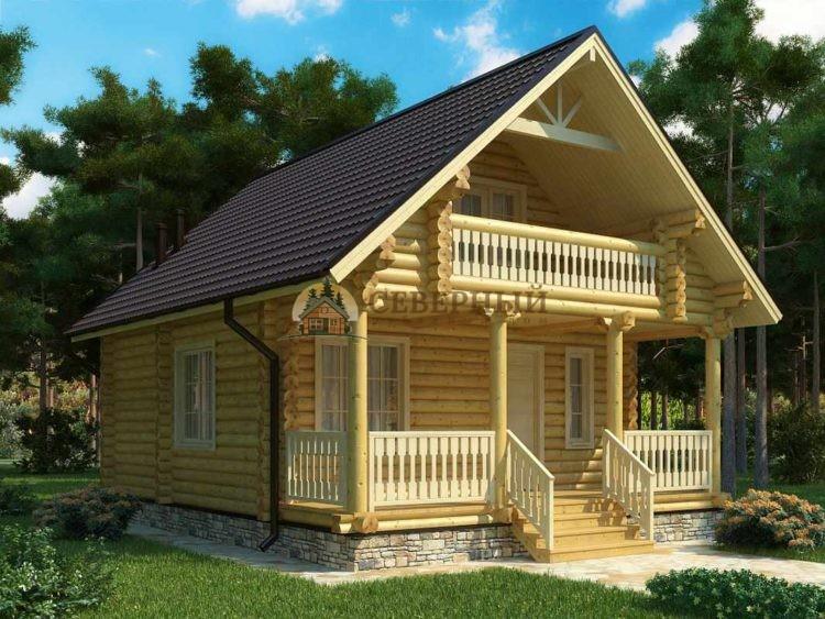 Дома из бревна дешево