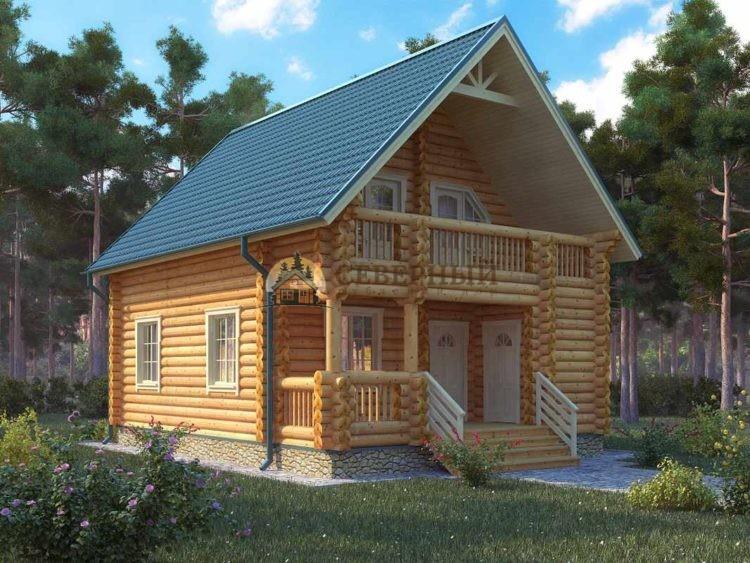 Построить дом из бревна