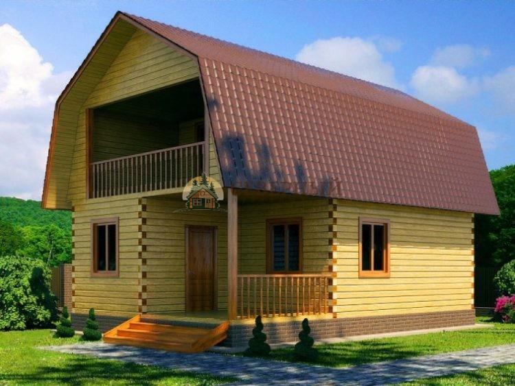 Дома из бруса в Волоколамске